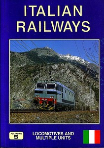 1995 Italian Railways Locomotives & Multiple Units, 1st edition, by David Haydock, published September 1995, 160pp £13.50, ISBN 1-872524-73-7. Cover photo of FS E633 041.