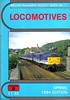 1994 (Spring) Locomotives, 32nd edition, by Peter Fox & Richard Bolsover, published Spring 1994, 92pp £1.85, ISBN 1-872524-57-5. Cover photo of Provincial-liveried 31465. Note change of title to 'Locomotives', with 'British Railways Pocket Book No.1' in small print above.