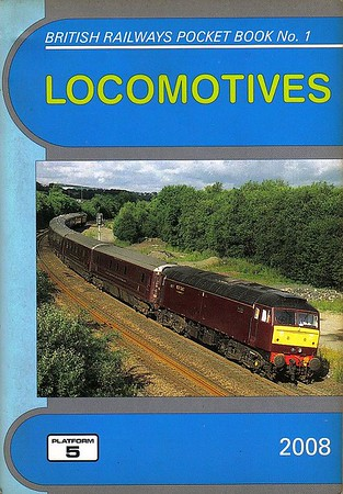 2008 Locomotives, 50th edition, by Peter Fox & Robert Pritchard, published December 2007, 96pp £4.25, ISBN 1-902336-59-3. Cover photo of WCRC 47804.