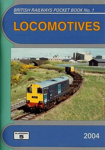 2004 Locomotives, 46th edition, by Peter Fox & Robert Pritchard, published December 2003, 96pp £3.40, ISBN 1-902336-32-1. Cover photo of DRS 20301.