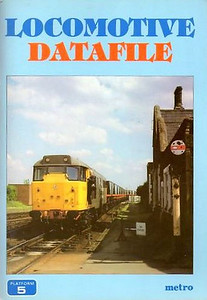 1985 Locomotive Datafile, by Neil Webster, published November 1985, 96pp £2.75, ISBN 0-906579-52-X. Contained full details of all then current BR locomotives; jointly produced with Metro; A5 format.
