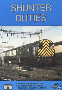 1985 Shunter Duties, by John Castle, published jointly with InterCity May 1985, 64pp £1.95, ISBN 0-906579-46-5. A5 format. I think that most previous editions of this were produced solely by InterCity.
