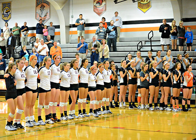 2014 PC Volleyball vs St Joe Central
