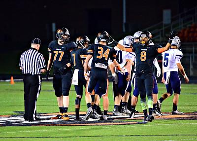 2014 Platte County Varsity Football vs St. Joe Central