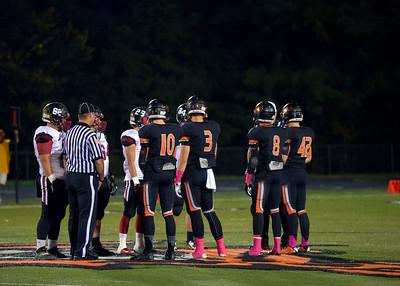 2014 Platte County Varsity Football vs Benton