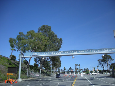 Entrance to Dodger Stadium