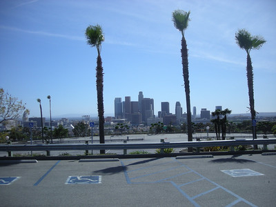 L.A. from Dodger Stadium