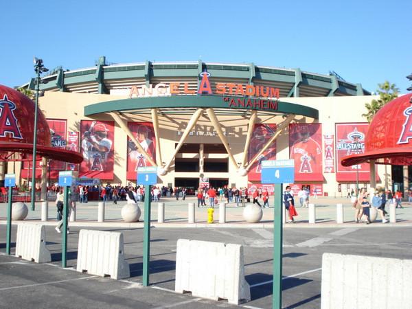 Entrance to Angel Stadium