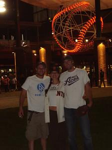 Reno Aces 06-07-2010, Bergstrand, Stacie and Nick