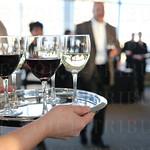Wine was served.