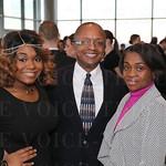 Tia,Sam and Trina Johnson.