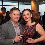 Chris Hungerford and Hannah Lyons.