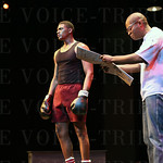A scene from the play And In This Corner...... Cassius Clay.