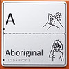 aboriginal auslan and braille panel