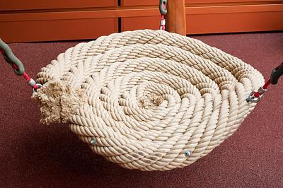 rope basket seat