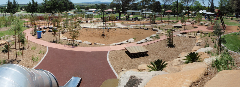 panorama of playspace