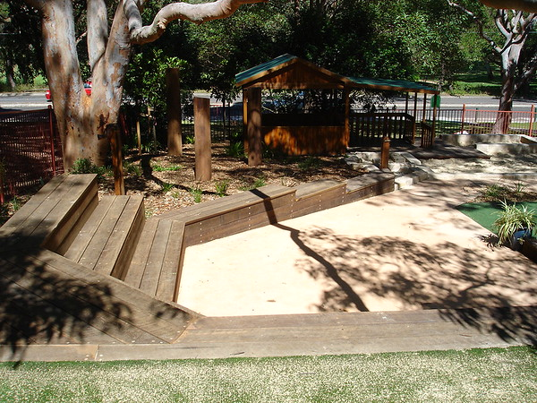 timber amphitheatre