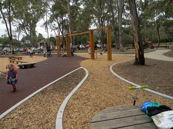 hazelwood park playspace