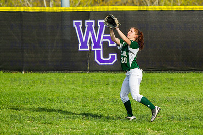 Ste  Genevieve vs Central High School Softball (9)