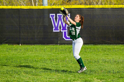 Ste  Genevieve vs Central High School Softball (10)