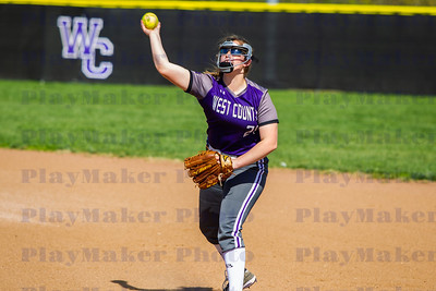 West County vs Potosi High School Softball (3)