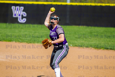 West County vs Potosi High School Softball (2)