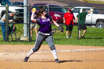 West County vs Potosi High School Softball (7)