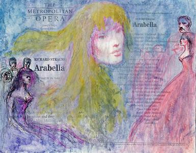 Irv Docktor Met Playbill Arabella