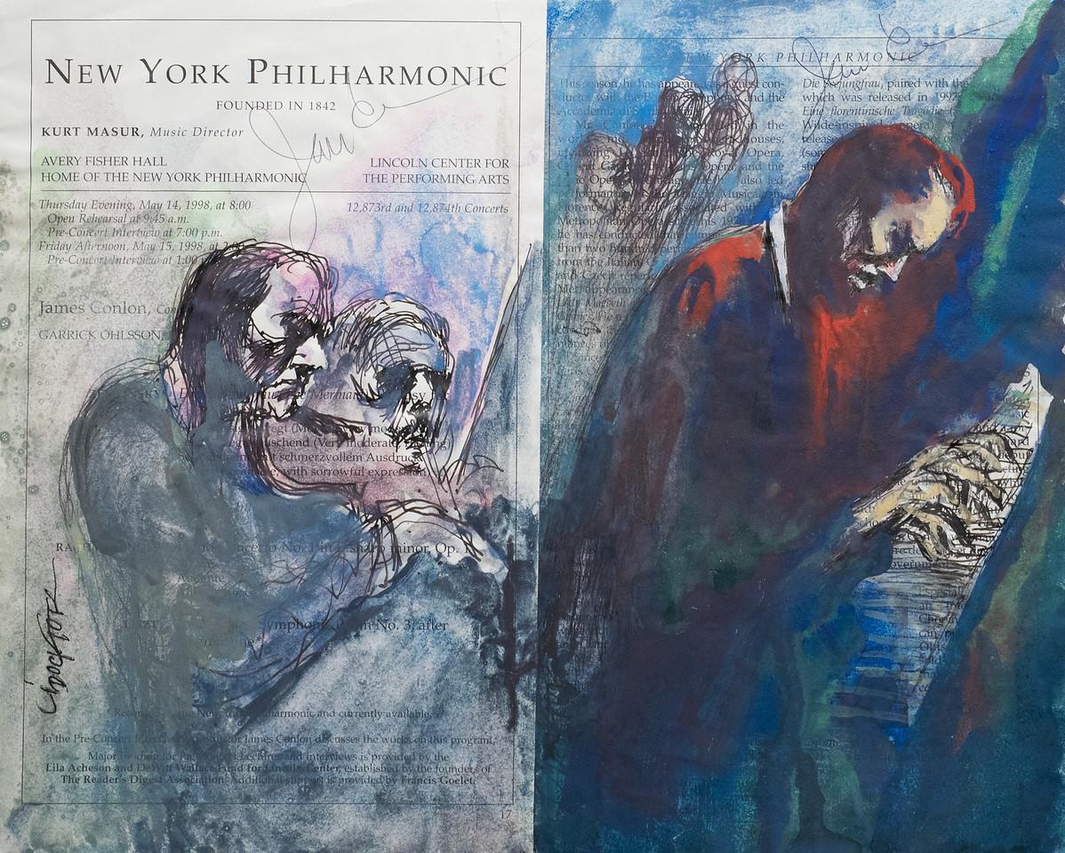 Irv Docktor Philharmonic Playbill 5 14 98