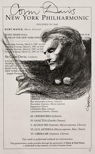 NY Philharmonic with Colin Davis
