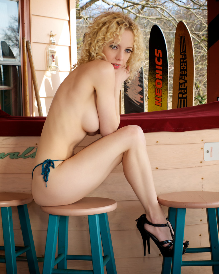 PLAYBOY model Tammy Jean at Heinz Marina.