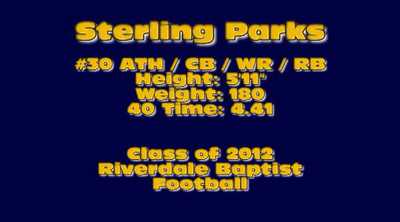Sterling Parks Class of 2011