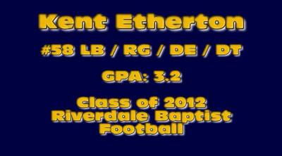 Kent Etherton Class of 2012