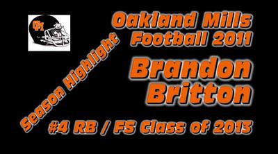 Brandon Britton Class of 2013