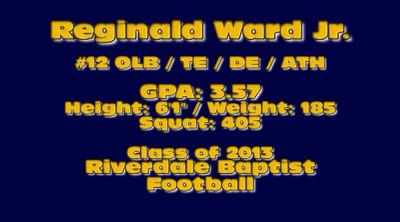 Reginald Ward Class of 2012