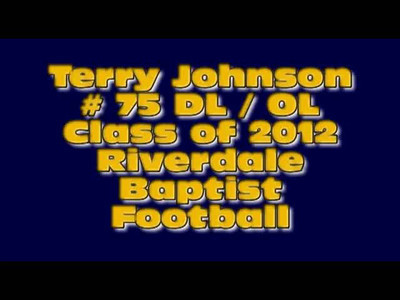 Terry Johnson #75 Class of 2012