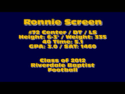Ronnie Screen Class of 2011