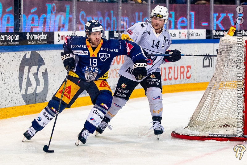 National League - 19/20: EV Zug - HC Fribourg-Gotteron - 01-11-2019