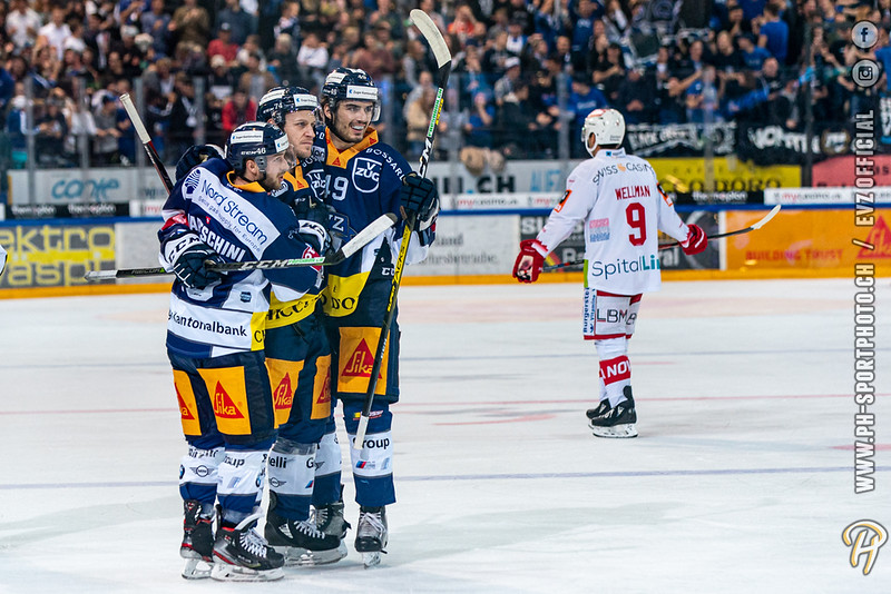 National League - 19/20: EV Zug - SC Rapperswil-Jona Lakers - 18-10-2019