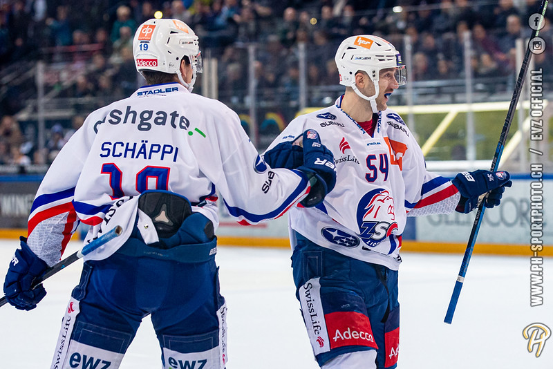 National League - 19/20: EV Zug - ZSC Lions - 22-11-2019