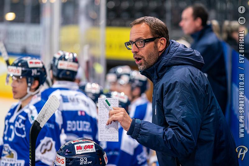 Swiss League - 19/20: EVZ Academy - HC La Chaux-de-Fonds - 04-10-2019