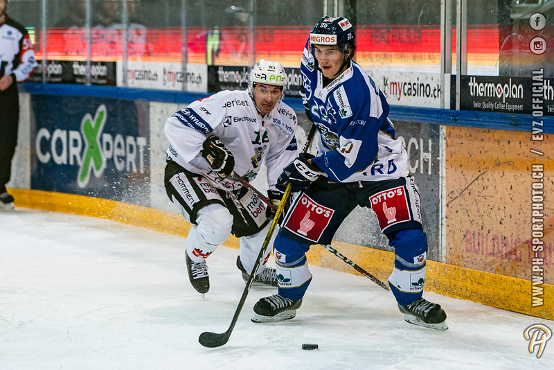 Swiss League - 19/20: EVZ Academy - EHC Olten - 29-10-2019