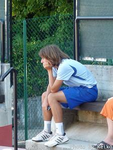 クレイジーダニの試合だったと思うけど、ジーーーッと見てた。