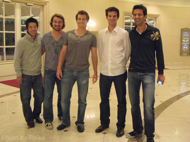 various players