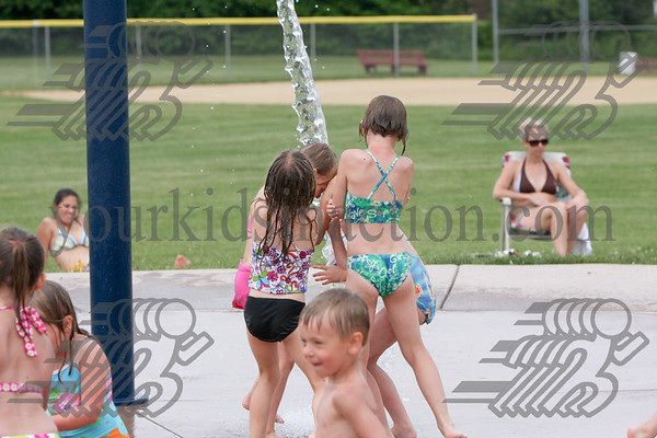 06-16-09 Fred Greenwood Park Splash Pad (2:30-4PM)
