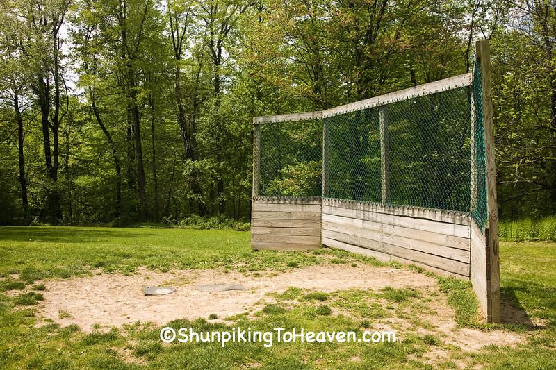 Home Base and Backstop, Holmes County, Ohio