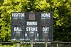 Baseball Scoreboard, Zeigler Park, Mayville, Wisconsin