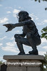 Baseball Catcher Statue, Jefferson County, Wisconsin