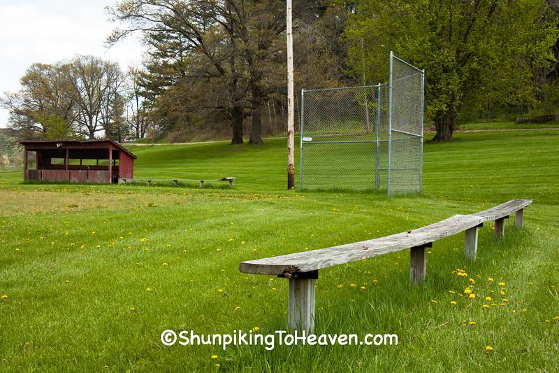 Old Baseball Diamond, Iowa County, Wisconsin