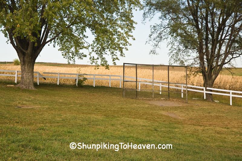 Old-Fashioned Baseball Diamond, Johnson County, Iowa